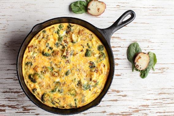 Æggekage i ovn