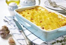 Flødekartofler med ost