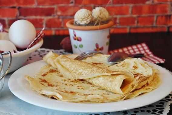 Hurtige Pandekager Dessertpandekager Der Vil Samle Folk Om Bordet