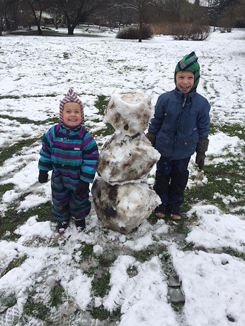 En beskidt snemand