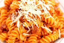 Svensk pølseret med pasta